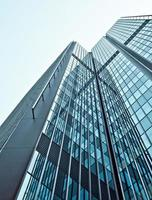 moderno centro business di vetro foto