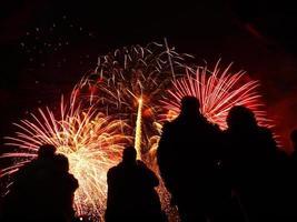 fuochi d'artificio battersea 2010