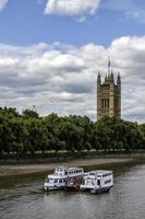 Victoria Tower, case del Parlamento, Londra foto