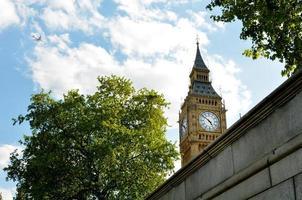 Torre dell'orologio di Big Ben Londra Regno Unito foto