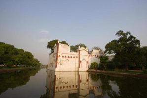 moschea a delhi, india foto