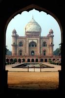 Tomba di Safdarjang, Nuova Delhi, India