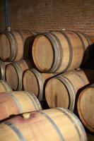 serbatoio di vino in legno foto