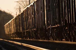 treno merci foto