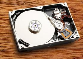 hardware del meccanismo interno del disco rigido foto