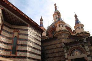 Chiesa nella località turistica della Spagna foto