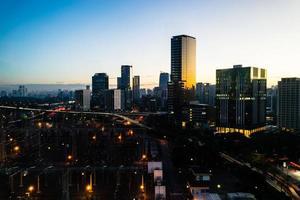 Vista da Cidade de San Paolo foto
