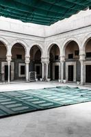 la grande moschea di kairouan, tunisia, africa foto