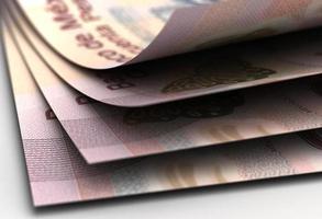primo piano dei pesos messicani foto