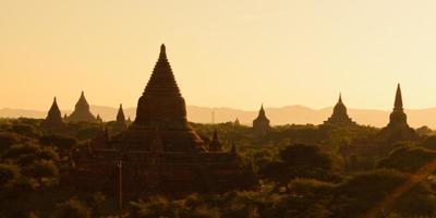 pagode a Bagan, Myanmar foto