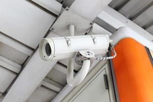 telecamera di sorveglianza di sicurezza CCTV foto