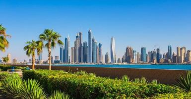 Dubai Marina. Emirati Arabi Uniti foto