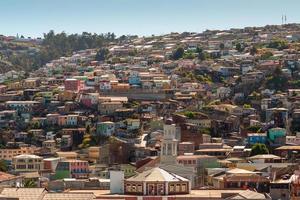 colline di valparaiso foto