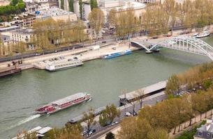 veduta aerea di parigi