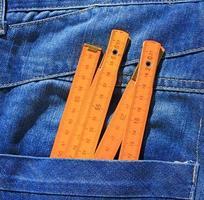 strumenti in tasca foto