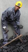 minatore di carbone foto