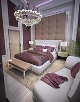 camera da letto in stile art deco foto