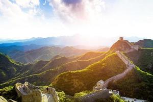 Grande Muraglia il punto di riferimento di Cina e Pechino foto