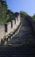 scalata della grande muraglia foto