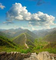 Grande Muraglia. Cina foto