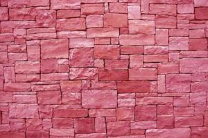 struttura della parete di pietra colorata foto