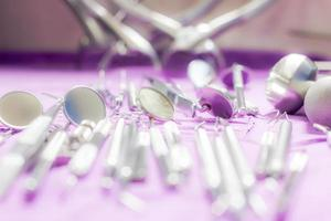 strumenti del dentista foto