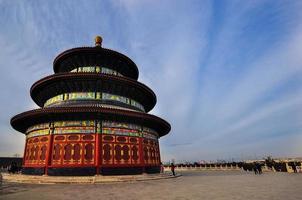 tempio del cielo (tian tan) a Pechino foto