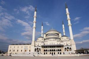 Moschea di Kocatepe ad Ankara foto