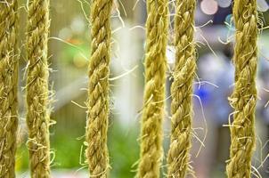 linea di corda. foto