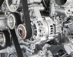 parte del motore dell'auto foto