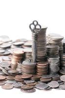 chiave per la crescita finanziaria foto