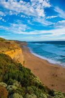 la grande strada oceanica, victoria, australia foto