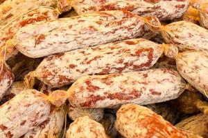 salame dall'italia foto