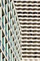 struttura delle finestre delle costruzioni. foto