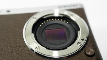 sensore di immagine della fotocamera digitale (ccd o cmos) per apsc dslr foto