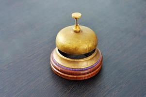 elegante campanello antico foto
