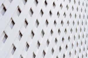 parete di legno bianca