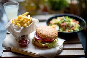 pranzo americano foto