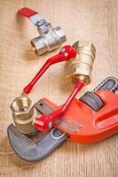 composizione di articoli idraulici foto
