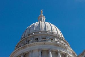 capitale dello stato del Wisconsin foto