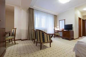 interno di un appartamento d'albergo foto