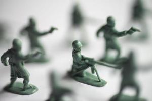 giocattoli dell'esercito foto