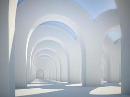 archi di architettura astratta foto