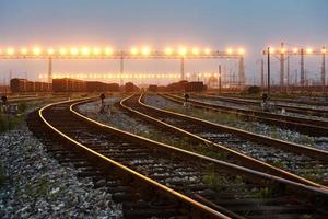 la strada da percorrere per la ferrovia