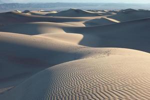 dune di sabbia in california foto
