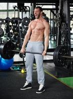 uomo di ginnastica foto