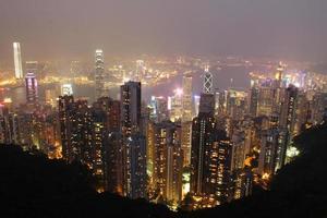 il picco, l'isola di Hong Kong foto