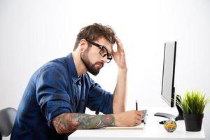 concetto di lavoro indipendente foto