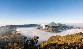 vulcano bromo foto
