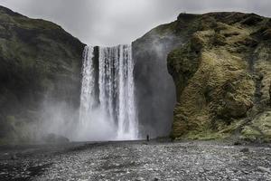 cascata di skogafoss foto